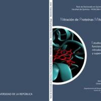 <strong>Nitración de proteínas mitocondriales : estudios estructurales y funcionales en especies nitradas de citocromo c y superóxido dismutasa de magneso<br /></strong>
